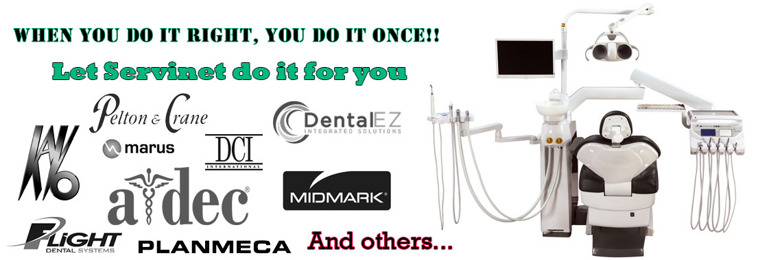 Dental units repair and services